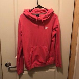 Pink Nike hoodie!